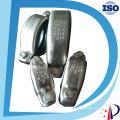 Нержавеющая сталь ss304 и 316 с высоким давлением Рифленые фитинги муфты типа victaulic
