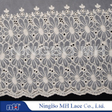 Cotton Embroidery Net Lace W202990