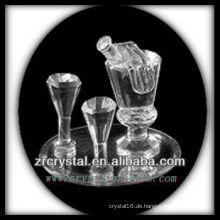 Wundervoller Kristallbehälter P004
