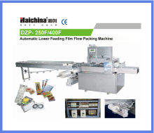 Horizontal Food Flow Pack Machinery Dual Frequency With Pvc / Bopp High Speed