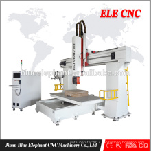 CE vacuum working table router cnc with 5 axis