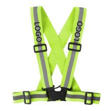 Fast Customization Adjustable Reflective Safety Vest for Traffic Construction