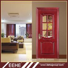 Конкурентоспособная цена фанера / ПВХ МДФ дверь для дизайна интерьера