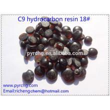 Para el mejor material de goma Resina de petróleo C9 Resina de hidrocarburo 18 #