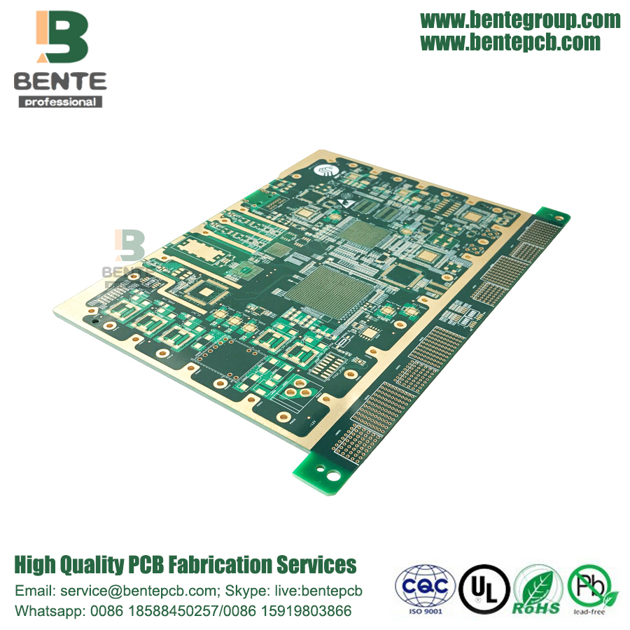 8Layers HDI PCB FR4 Tg170 Impedance Control BGA