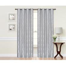 Good Shading Jacquard Drapery Fabric Curtains Panel