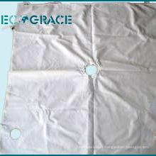 Tissu filtrant de presse matérielle de polypropylène de carbure de cobalt 50 microns