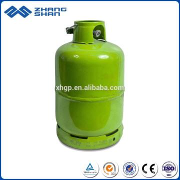 Высокая безопасность 4.5 кг сжиженного газа газовой плитой баллоны с клапаном
