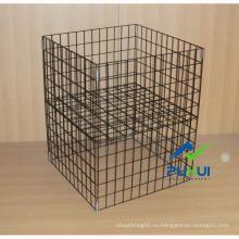 Проволочный складной куб для продвижения (PHY523)