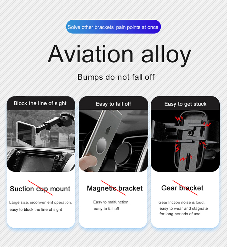 360° degre magnetic car mobil phone holder