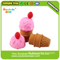 Ice-Cream kegelvormige Eraser, Eraser Promotie Toy Stationery