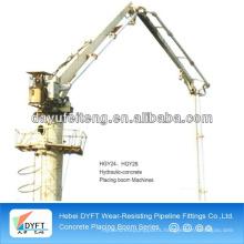 Manual concrete pump placing boom (SJ 12m)