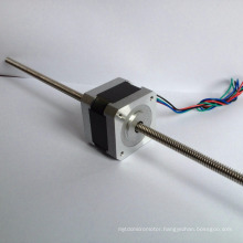 Nema 17 non-captive linear guide rail stepper motor