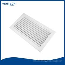 retourner la grille grille air grille aluminium grille HVAC