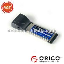 Portátil USB 2.0 USB 2.0 de 2 portas 34 mm / 54 mm