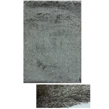 Mince Polyester Shaggy tapis à poil Long mix couleur