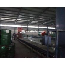 Máquina de bobina de filamento CNC para la fabricación de tubos de FRP y tanques de 12 m de longitud