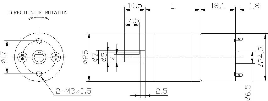 gearbox gear motor