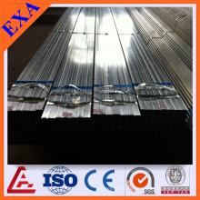 GI Tubo de acero rectangular para la construcción