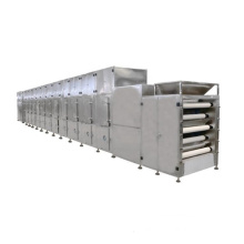 Mealworm Cooked Rice Sunflower Seeds Microwave Tunnel Mesh Belt Dehydrating Machine High Efficiency. 304 Stainless Steel 12-80KW