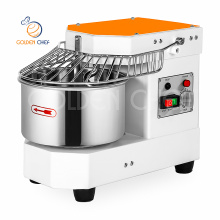 commercial kitchen table top 8 liter 3 kg spiral dough mixer kneading machine bread bakery small bakery equipment prices