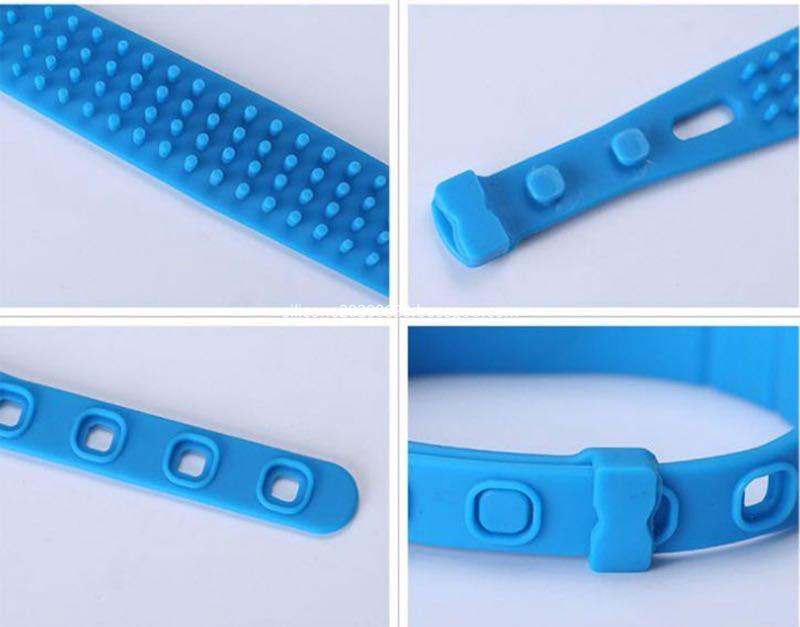 Silicone RFID Wristband blue