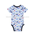 2 pack summer infant baby boy romper newborn cartoon baby jumper playsuit blue color boy romper