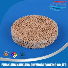 Filtre à fonderie de mousse céramique à haute porosité