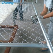 Galvanized Diamond Wire Mesh Fence Price