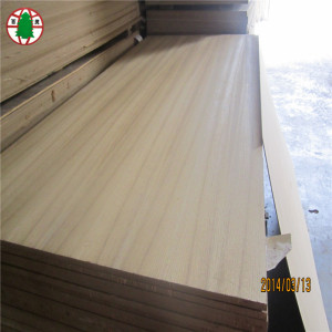 6 mm Natural Veneer Coated mdf Sheet