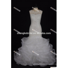 Elegant A-Line Sweetheart Wedding Dress With Tiered Tulle