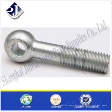 SAE eye bolt zinc plated ts16949 iso9001