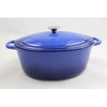 Enamel Casserole With Ergonomic Handles