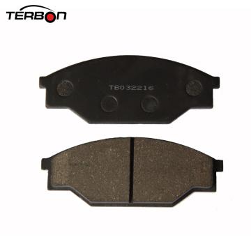 Patin de frein de pièces d'auto de certificat d'OIN pour Toyota