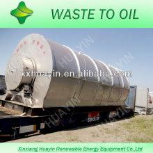 передовые технологии отходов шин переработка нефти машины с ISO и CE