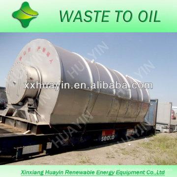 Altöl-Recycling der fortgeschrittenen Technologie zu Ölmaschinen mit ISO und CE
