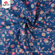 Flower Pattern Polyester Custom German Print Fabric
