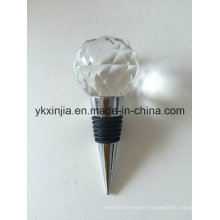 Kitchenware Crystal Glass Wine Stopper for Wedding Gifts