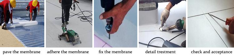 3-07 PVC waterproof membrane
