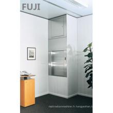 Petit ascenseur alimentaire pour cuisine utilisant