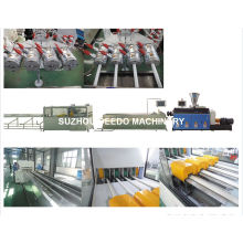 PVC Four Conduit Pipe Production and Extrusion Line Machine