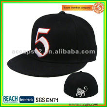 Brand Flat Fitted Hat SN-0100