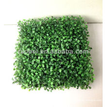 Yiwu plástico artificial falso topiary grama boxwood grass mat