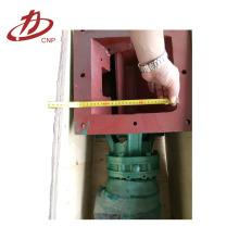 Válvula de ar de alta qualidade conectada ao funil de cinzas