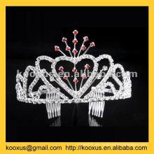 Proveedor profesional de tiara y corona