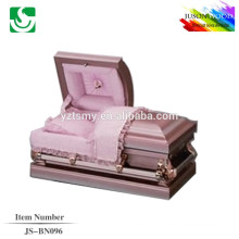 JS-BN096 wholesale best price brown gold 22G caskets