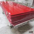 Línea de producción de chapa de superficie sólida, hoja de superficie sólida