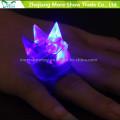 LED de color intermitente hasta Bumpy Rings Partido Favor