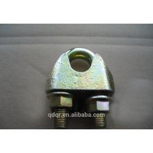 Maleável galvanizado clipes de cabo de aço de DIN1142