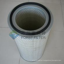 FORST Latest Design Fabricação de Cartuchos de Filtro de Celulose de Alta Qualidade